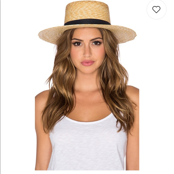 7c3f2041e42a0 Janessa Leone Klint Hat in Natural Brand New Sz M
